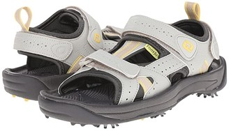 Foot Joy FootJoy Golf Sandal (All Over Cloud/Yellow Trim (Close-out)) Women's Sandals