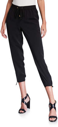 MICHAEL Michael Kors Side-Tie Cropped Track Pants