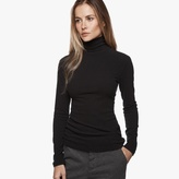 James Perse Brushed Jersey Turtleneck