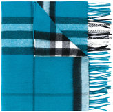 Burberry Classic Check cashmere scarf - men - Cashmere - One Size