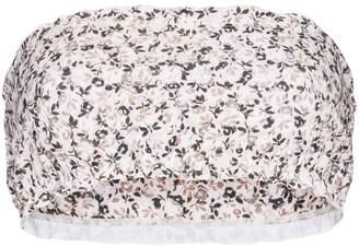 Juillet Lee floral-print bikini top