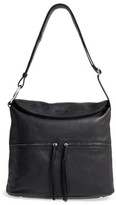 Elizabeth and James Finley Leather Hobo Bag - Black