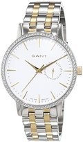 Gant Park Hill II Women's Quartz Watch with Silver Mid Stones Analog Quartz Stainless Steel Coated W109219