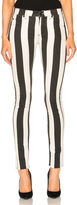 Off-White Striped Skinny Jeans