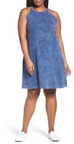 Three Dots Plus Size Women's Sleeveless A-Line Dress