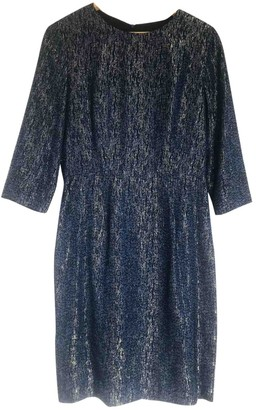 Les Prairies de Paris Blue Glitter Dress for Women