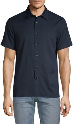 Perry Ellis Slim-Fit Short-Sleeve Shirt
