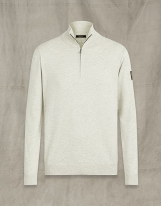 Belstaff BAY HALF ZIP Grey