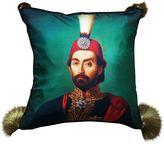 Les Ottomans Sultan Silk Blend Accent Pillow