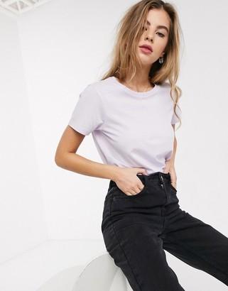 Asos Design DESIGN ultimate organic cotton crew neck t-shirt in lilac