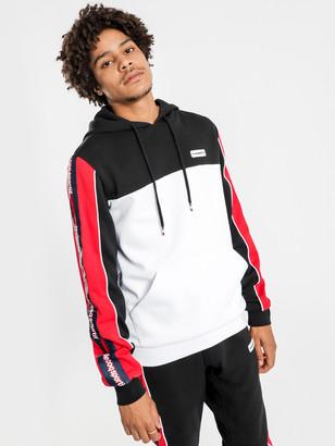 Le Coq Sportif Percy Hooded Sweater in Black