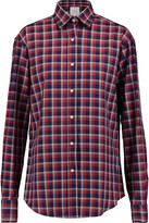 Stella Jean Checked cotton-twill shirt