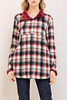 Entro Check Print Sweater