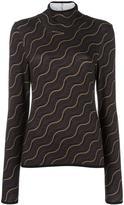Aalto wavy print pullover