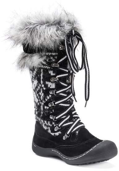 Muk Luks Gwen Faux Fur Lined Snow Boot