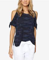 Sanctuary Cotton Cold-Shoulder T-Shirt