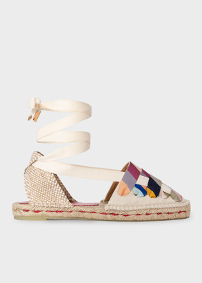 Paul Smith Castaner X Cream 'Jean' Espadrille Sandals