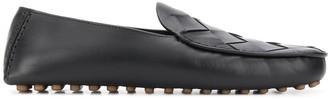 Bottega Veneta Intrecciato weave slippers