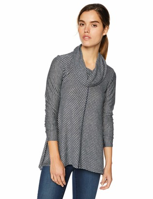 Jones New York Women's Cowlneck Sharkbite