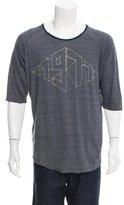 Rogan Scoop Neck Graphic Print T-Shirt