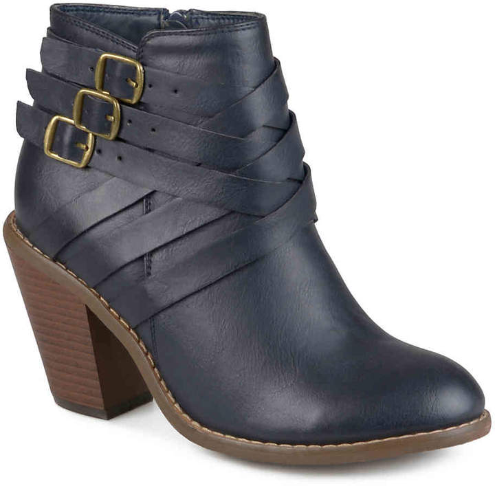 Journee Collection Strap Bootie - Women's
