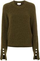 3.1 Phillip Lim classic knitted sweater - women - Polyamide/Spandex/Elastane/Wool/Yak - L