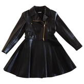 Miu Miu Black Leather Coat