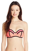 InMocean Women's Sundance Bandeau Bikini Top