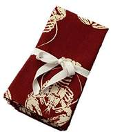 """18"""" X 18"""" Red Maine Lobster Cotton Napkins Set of 4"""