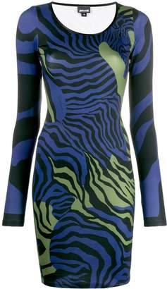 Just Cavalli zebra print dress