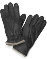 Brooks Brothers Deerskin Cashmere Lined Gloves