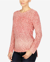 Lucky Brand Lace-Up Ombre Sweater
