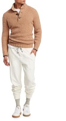 Brunello Cucinelli Tapered Cotton Sweatpants