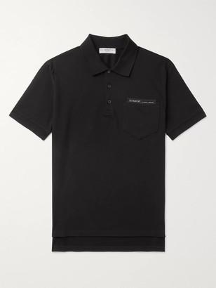 Givenchy Logo-Detailed Cotton-Pique Polo Shirt