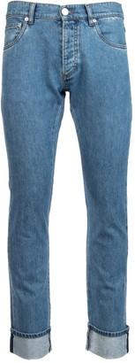 Prada Cuffed Bootcut Jeans