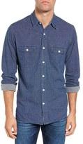 Faherty Belmar Knit Terry Work Shirt
