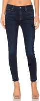 7 For All Mankind The Ankle Released Hem Skinny