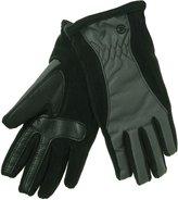 Isotoner SmarTouch Matrix Nylon Gloves; M/L