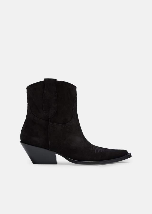 Maison Margiela Suede Western Boots
