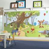 York Wall Coverings York Wallcoverings Disney's Winnie The Pooh & Friends Removable Wallpaper Mural