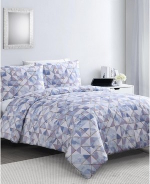Vcny Home Sky Geo 2-Pc. Twin Xl Duvet Cover Set Bedding