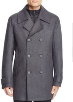 Andrew Marc Cushing Layered Pea Coat