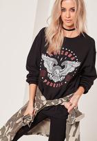 Missguided Arizona Phoenix Sweatshirt Black