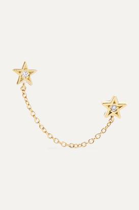 Jennifer Meyer 18-karat Gold Diamond Earring