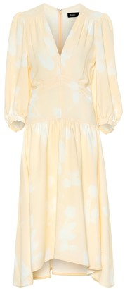 Proenza Schouler Floral cady midi dress