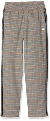 MEK Girl's Pantalone Principe Di Galles Color Trouser