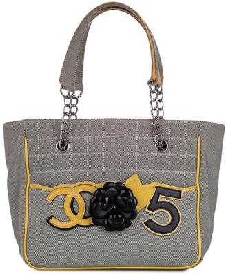 Chanel Pre Owned 2005-2006 Camellia CC No5 tote