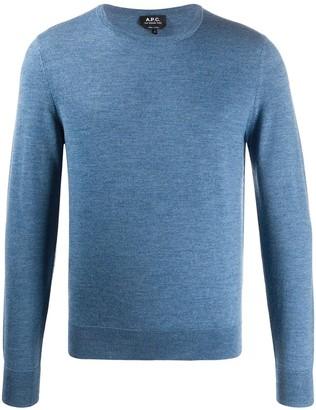 A.P.C. Long Sleeve Sweater