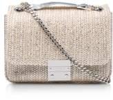 Carvela Sadia Raffia Shoulder Bag