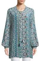 Tolani Elizabeth Graphic-Print Long Tunic